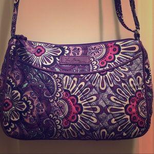 🆕Vera Bradley Little Crossbody - Lilac Tapestry